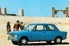 Fiat 128 by Michiel V, via Flickr