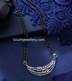 Necklace Indian Jewelry Earrings, Silver Jewellery Indian, Jewelry Design Earrings, Gold Jewellery Design, Diamond Mangalsutra, Gold Mangalsutra Designs, Diamond Necklace Set, Gold Jewelry Simple, Bridal Jewelry Sets
