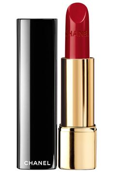 It does prima for my lips forever. Best Red Lipsticks Of Chanel Rouge Allure Luminous Intense Lip Color in Pirate. Best Red Lipstick, Chanel Lipstick, Long Wear Lipstick, Chanel Makeup, Nude Lipstick, Lipstick Shades, Lipstick Colors, Red Lipsticks, Lip Makeup