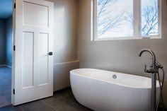 Standing Tubs are making a comeback // Design by 303 Development Tubs, Custom Homes, Denver, Bathtub, King, Design, Bathtubs, Standing Bath, Bath Tube