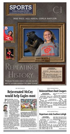 OJR soccer player Emily Morgan named the 2012 Girls Soccer Player of the Year. http://www.pottsmerc.com/article/20121228/SPORTS01/121229501/all-area-ojr-s-morgan-joins-rare-company-as-two-time-player-of-year
