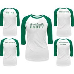 Bachelorette Party Matching Shirts by oldglory on Polyvore