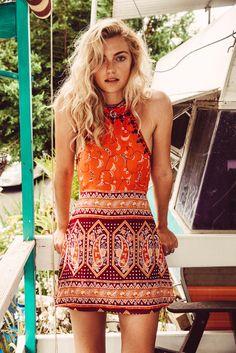 Drifter Mini Dress Mumbai - Arnhem Clothing