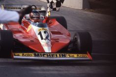 Gilles winning his 1st Grand Prix in Montreal!