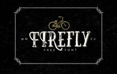 Firefly is a grungy serif typeface