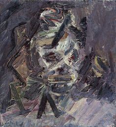 "Frank Auerbach, ""Head of Catherine Lampert"""