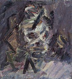"Frank Auerbach, ""Head of Catherine Lampert"""
