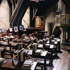 Professor Lockhart's Defence Against the Dark Arts Classroom