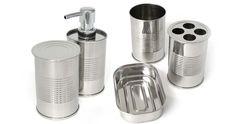 Készíts konzervdobozokból fürdőszobai kiegészítőket