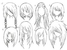 Strange 1000 Images About Conjunto On Pinterest Anime Hairstyles Hairstyles For Men Maxibearus