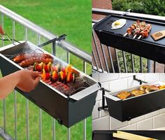 Grill for the balcony.