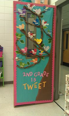 Class door by Tara Vincent