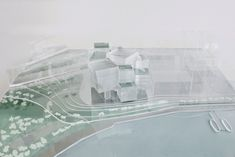 Competition entry for M+ Muiseum in Hong kong by SANAA