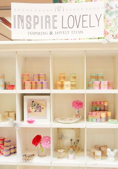 Love this idea for a craft fair booth #display  Great display!