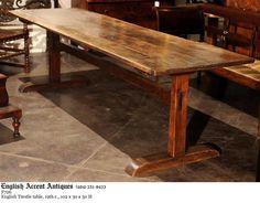 trestle table design inspiration