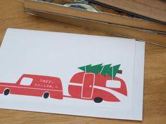Trailer / Caravan Christmas card