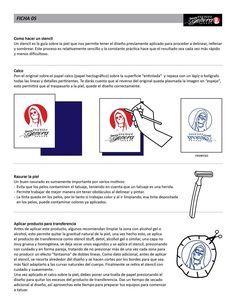 Ficha 05 / Esténcil - Caos Tattoo | Estudio de tatuajes profesional | Tatuadores en Santiago