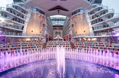 Join us, we'll save you a seat at our Aqua Theater! #cruising #travel