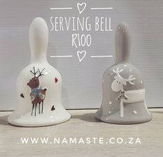 🤶🔔🥘 Gorgeous #Ceramic #Serving #Bell for the #FestiveSeason available at the #NamasteCabin 🏡 #NamasteProducts #Christmas  www.namaste.co.za/new Decorative Bells, Namaste, Ceramics, Shop, Christmas, Home Decor, Products, Ceramica, Xmas