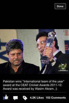 Pakistan Cricket team of the year!