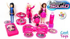 Barbie Spy Squad Happy Meal Toys CoolToys friendly video