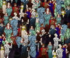 Can YOU find William Shakespeare hiding among characters from his famous plays?  http://dailym.ai/1MVdFo2