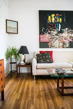 A Break-the-Rules Guide to Living Room Design | Apartment Therapy Main | Bloglovin'