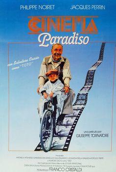 Cinema Paradiso Maravillosa pelìcula de las que dejan huella.
