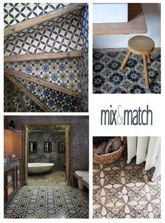 details home decor: Mix & Match tiles