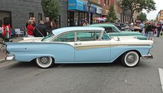 1957 Ford Fairlane 500 2-Door Club Sedan This is the car we had when we first married in 1958
