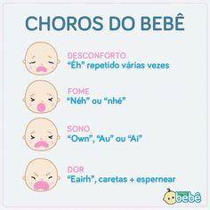 Decifrando o choro do bebê!  #chorodobebe #bebê