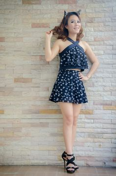 Fashion Set Daisy Black