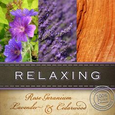 Our Relaxing aromatherapy blend contains essential oils of rose geranium, lavender, cedarwood & frankincense.  A blend of oils specially selected to have a calming effect on the mind and body and help to balance mood swings and relieve anxiety. Certified 100% pure & natural.