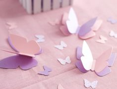 Construction of dimensional butterflies.