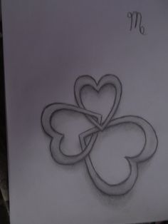 3 Hearts Tattoo Interlocking hearts tattoo