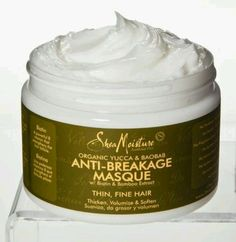 Good Stuff, apply once a week to repair. Shea Moisture Anti-Breakage Masque