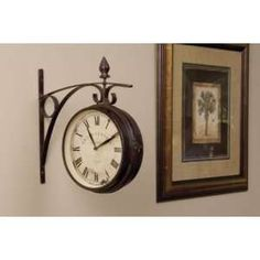Craftmade Double Face Indoor Outdoor Wall Clock W Th031