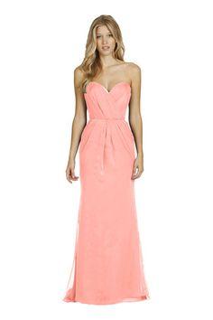 Jim Hjelm 5416 Luminescent Chiffon Bridesmaid Dress   Weddington Way