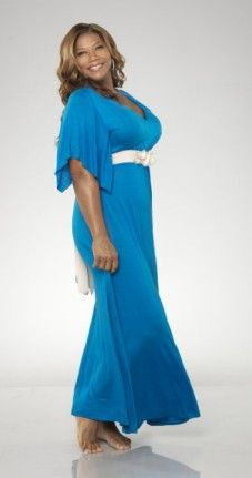 Queen Latifah *Look at this gorgeous Diva. BEAUTY Doesn't HAVE A SIZE, Ladies. *BOOM!!!