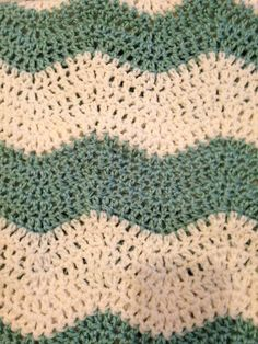 How to Soft Chevron! Beautiful great for scarves and blankets!
