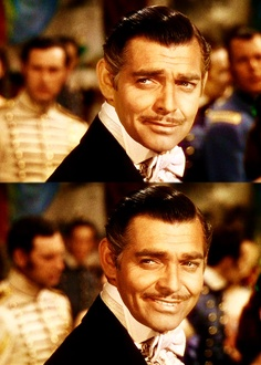 Clark Gable as Rhett Butler in Gone With The Wind (1939)