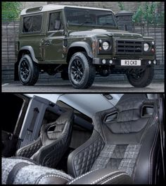 Just perfection! A Defender & Tweed!
