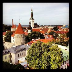Photo taken at Tallinn by Roman C. September 22, July 11, Roman C, Get Directions, Great Places, Mansions, House Styles, City, Manor Houses