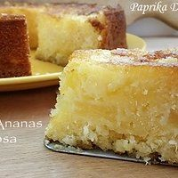 Torta all'Ananas Succosa