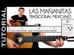 Como Tocar las Mañanitas Muy Fácil acordes RANCHERA GUITARRA principiantes Mariachi - YouTube