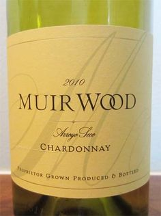 2010 Muirwood Chardonnay - a golden, creamy wine that is a steal at $12. Pairs well with chicken, seafood and pasta dishes.