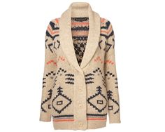 Topshop Knitted Navaho Cardigan