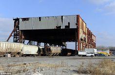 Abandoned Industrial Site, Kansas City, Missouri.    (dailymail, 2012)