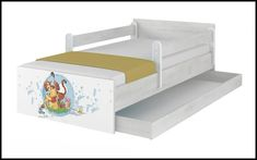 Disney children's bed Winnie with an umbrella – Kiddymill Kids Cot, Toddler Bed, Magical Room, Childrens Desk, Mattress Frame, Bed With Drawers, Cot Bedding, How To Make Bed, Kid Beds