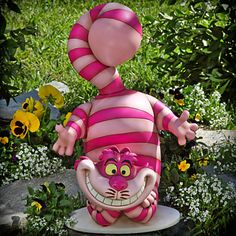Alice in Wonderland Cheshire Cat Garden Statue - when I have a yard again this will be in it